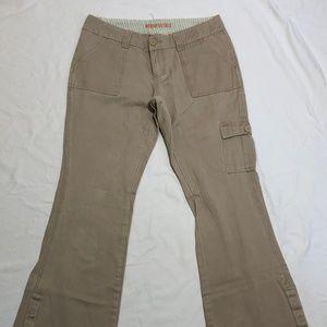 Aeropostale Size 7/8 Long Women's Pants Tan Chino